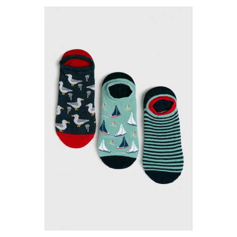 Medicine - Členkové ponožky Coast to Coast (3-pak)