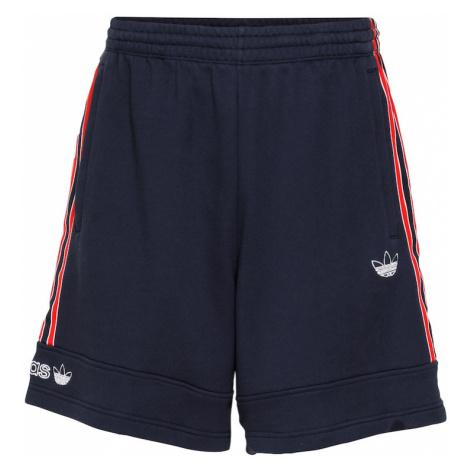 ADIDAS ORIGINALS Nohavice  červená / biela / námornícka modrá