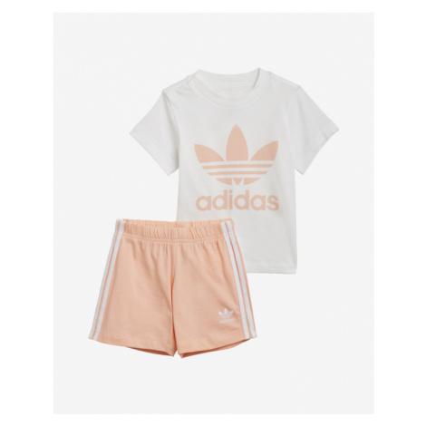 adidas Originals Trefoil Súprava detská Biela Béžová