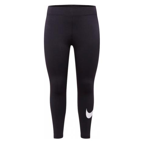 Nike Sportswear Legíny  čierna / biela