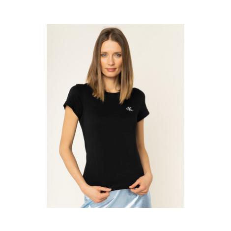 Calvin Klein Jeans Tričko J20J212883 Čierna Regular Fit