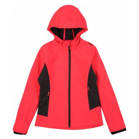 CMP Outdoorová bunda  červená / čierna