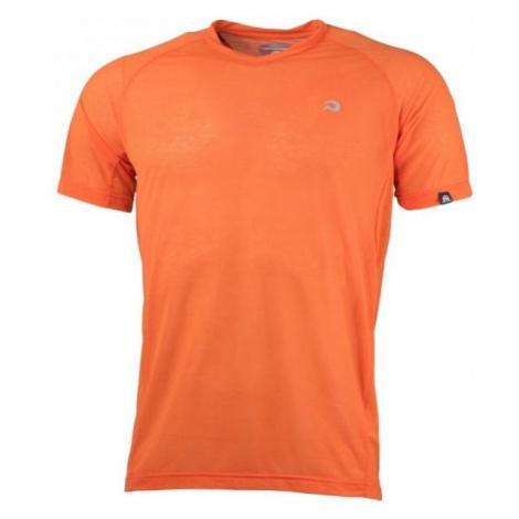 Northfinder VICENTE oranžová - Pánske tričko
