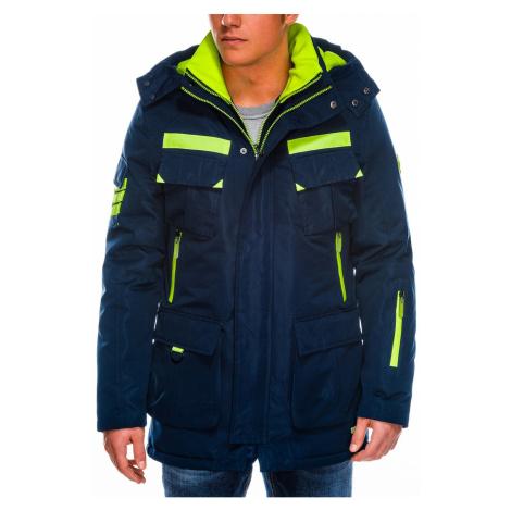 Pánske bundy a kabáty Ombre