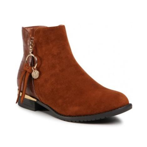 Členkové topánky Jenny Fairy W16AW462-13 Materiał tekstylny,koža ekologická
