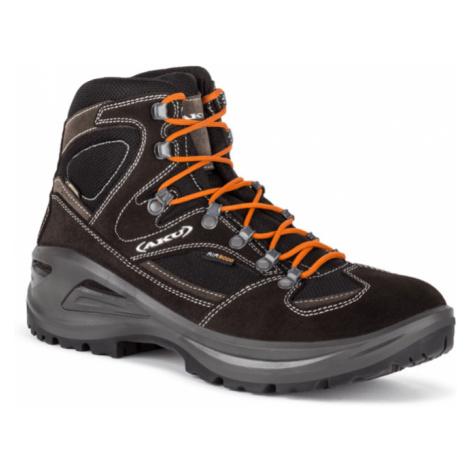 Pánske topánky AKU Sendera GTX čierno / oranžová