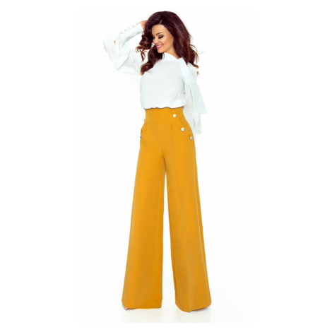 Žlté nohavice Elegance Bergamo