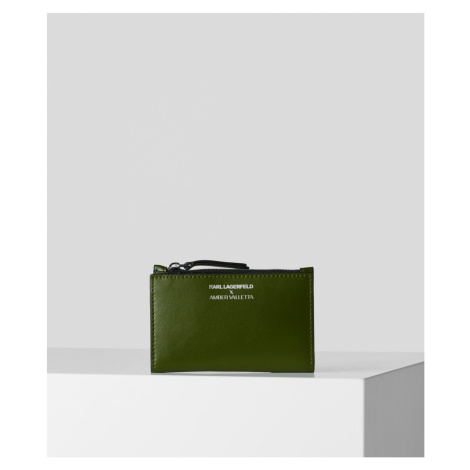 Púzdro Na Platobné Karty Karl Lagerfeld Klxav Zip Card Holder