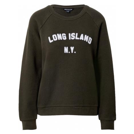 Whistles Mikina 'LONG ISLAND'  kaki / biela
