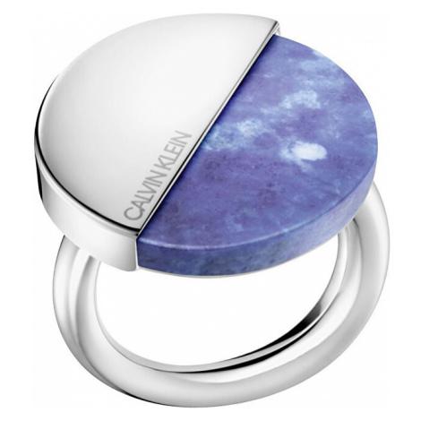 Calvin Klein Štýlový prsteň s Lapis lazuli Spicy KJ8RLR0402 mm
