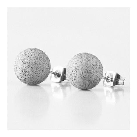 Náušnice Pearls Regular – antracit