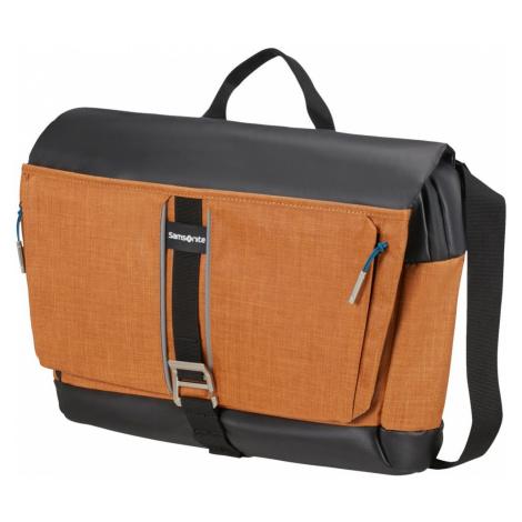 Samsonite Taška na notebook 15,6'' přes rameno 2WM M - oranžová