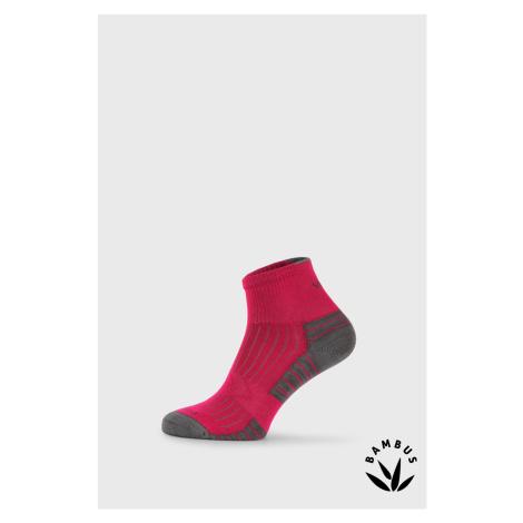 Športové bambusové ponožky Belkin magenta VoXX