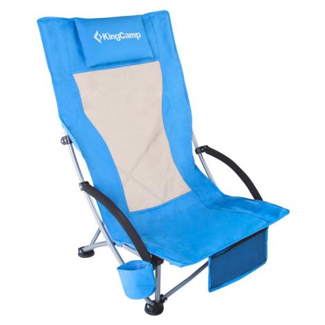 Plážová skladacia stolička KING CAMP High Backed