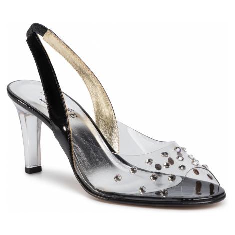Sandále AZURÉE - Manote 01TC Vernis Noir 01 Azurée