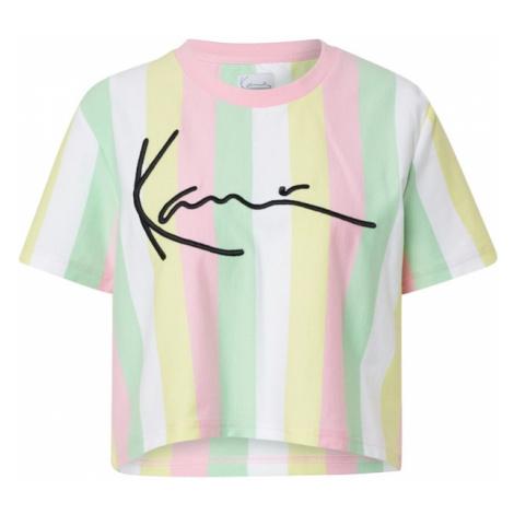 Karl Kani Tričko 'Signature Stripe'  zmiešané farby