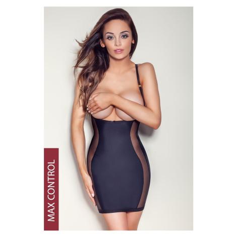 Sťahovacie šaty Style ČIERNA Mitex