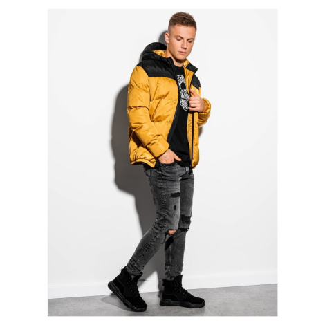 Ombre Clothing Men's winter jacket C458