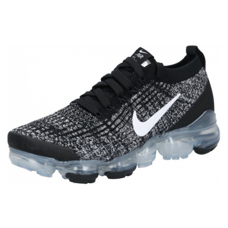 NIKE Športová obuv 'W AIR VAPORMAX FLYKNIT 3'  biela / strieborná / čierna