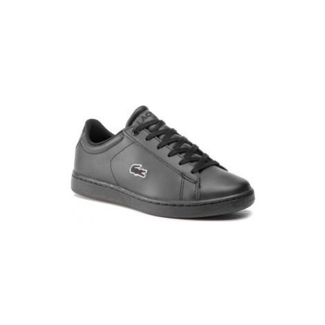 Lacoste Sneakersy Carnaby Evo Bl 3 Suj 7-37SUJ001302H Čierna
