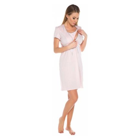 Dámska dojčiaca košeľa Felicita apricot Italian Fashion