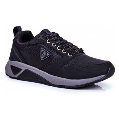 Men's Sport Shoes Sneakers Big Star Black GG174350