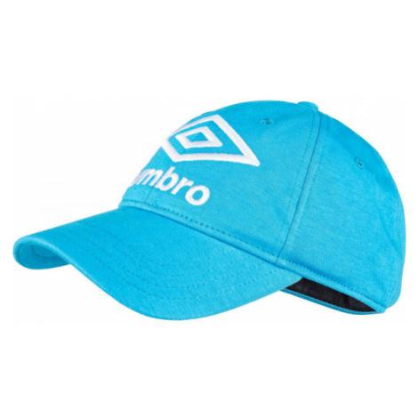Umbro KNITTED CAP KIDS modrá - Detská šiltovka