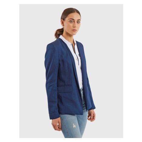 Sako La Martina Woman Lurex Denim Jacket