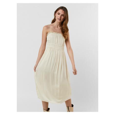 Singlet Šaty Vero Moda Biela
