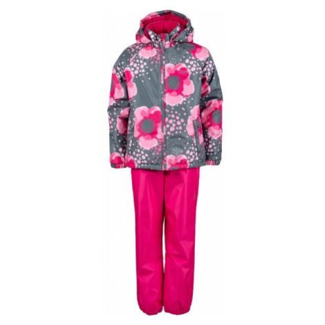 Lewro PAZ červená - Detský set, bunda a nohavice