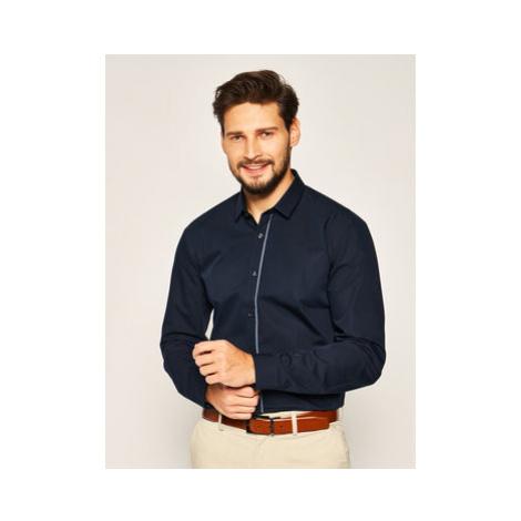 Hugo Košeľa Emilionn 50420889 Tmavomodrá Extra Slim Fit Hugo Boss