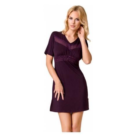 Luxusná dámska nočná košeľa Viola fialová Passion