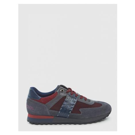 Tenisky La Martina Man Shoes Suede Leather