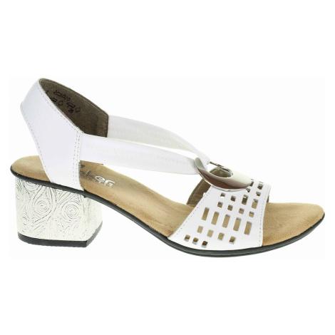 Dámské sandály Rieker 64675-80 weiss 64675-80