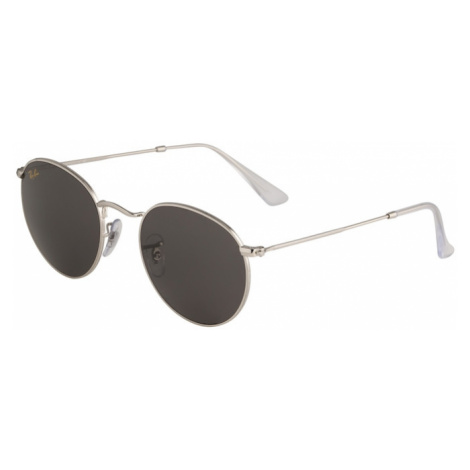 Ray-Ban Slnečné okuliare 'Round'  strieborná