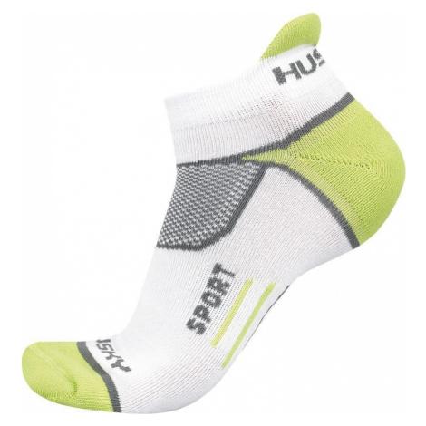 Husky Sport zelená, M(36-40) Ponožky