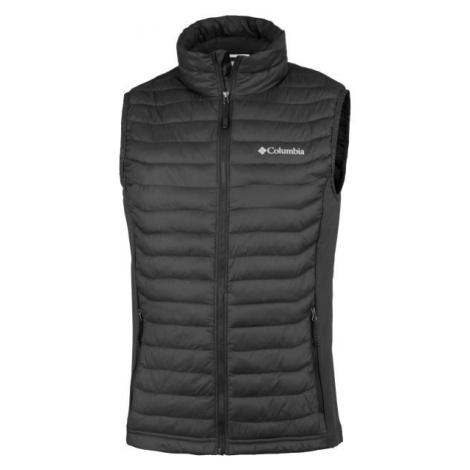 Columbia POWDER PASS VEST čierna - Pánska outdoorová vesta