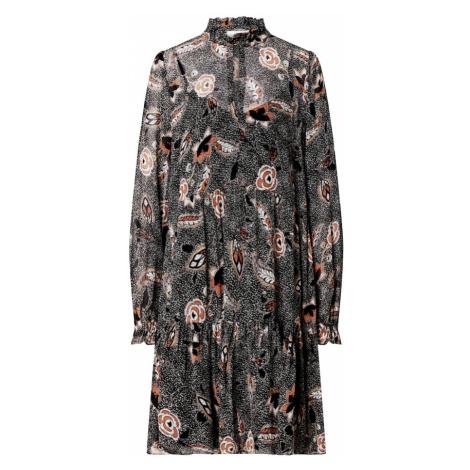 SECOND FEMALE Šaty 'Geo'  hnedá / čierna