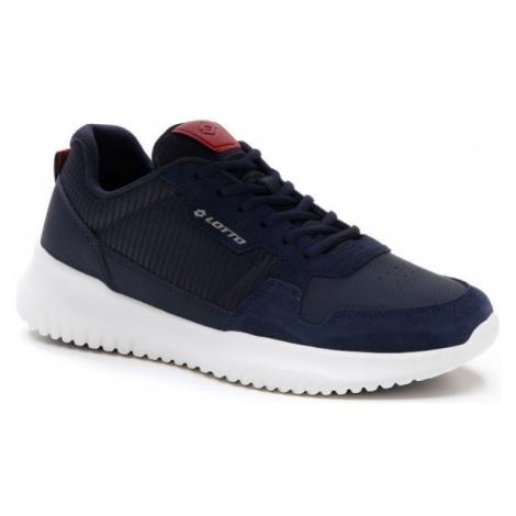 Lotto CITYRIDE AMF SMART NU tmavo modrá - Pánska voľnočasová obuv