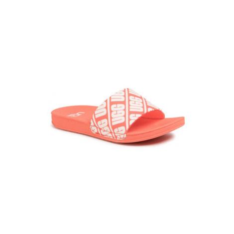 Ugg Šľapky K Beach Slide 1107981K Oranžová
