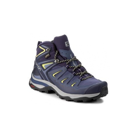Salomon Trekingová obuv X Ultra 3 Mid Gtx W GORE-TEX 398691 22 V0