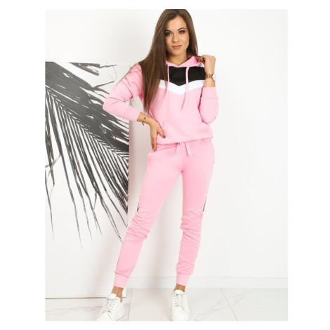 NESSI women's sweatshirt pink BY0624 DStreet