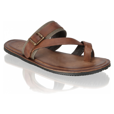 Pat Calvin pantofľa hnedá