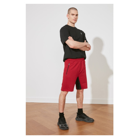 Trendyol Red Men's Regular Fit Shorts & Bermuda