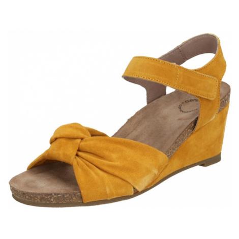 Ca Shott Remienkové sandále  žltá
