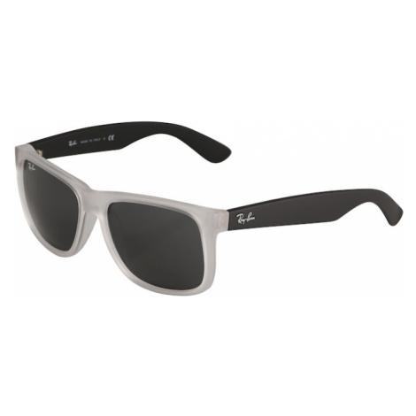 Ray-Ban Slnečné okuliare 'Justin'  priehľadná / čierna