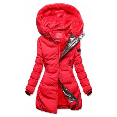 MODOVO Zimná bunda s podšívkou červená
