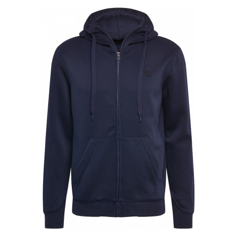G-Star RAW Tepláková bunda  námornícka modrá