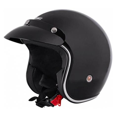 Moto prilba W-TEC YM-629 Farba čierna- lesk