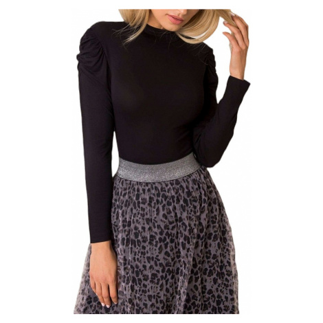 čierne dámske tričko Rue Paris